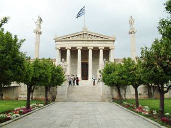 Rent a villa holiday in Greece - come and see the classical buildings and ancient temples