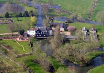Watermill for a self-catering holiday by the water
