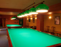 Holiday homes with a games room