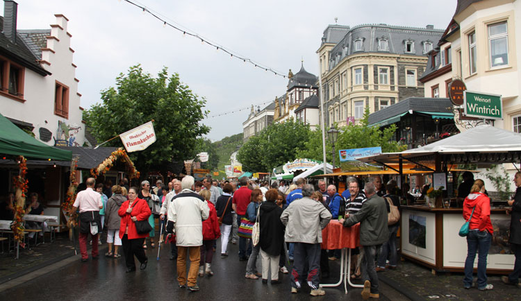 Include a wine festival during your holiday in Germany