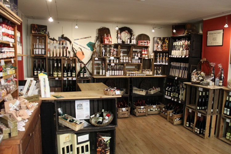 Wine Shop in the Moselle Valley