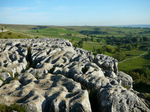 The other worldly Limestone Pavement in the Yorkshire Dales National Park