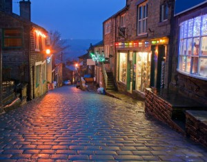 Follow in the Bronte's footsteps in Haworth in Bronte Country