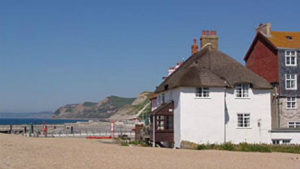 Ship Cottage by the beach, Dorset